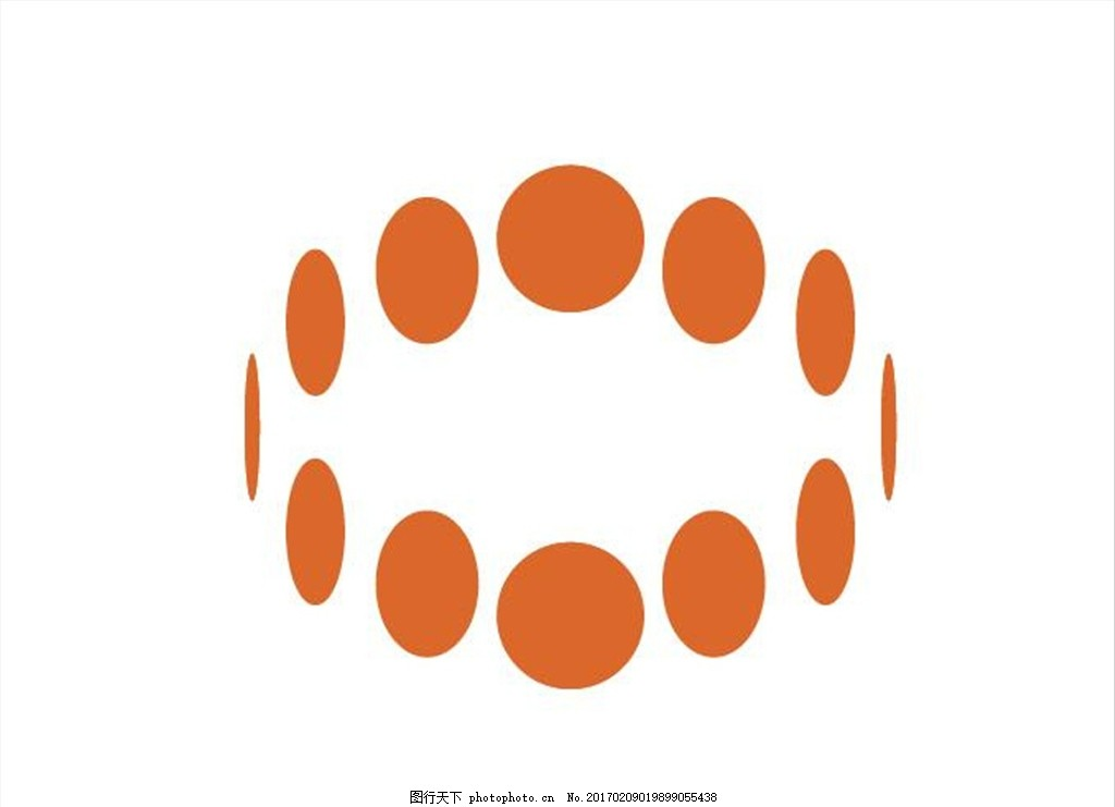 国外著名极简圆点logo
