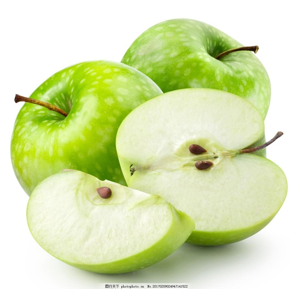 苹果 红苹果 青苹果 健康 超市 切开的苹果 摄影图片