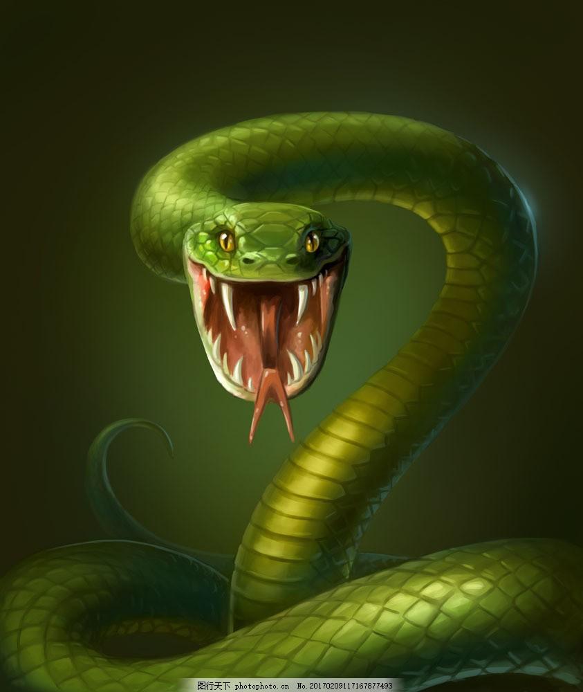 3d蛇 立体动物 陆地动物 动物世界 卡通动物 漫画动物 其他类别