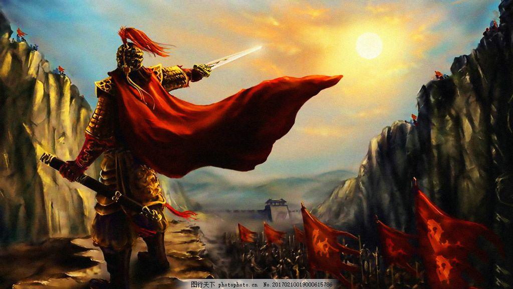 战争 古代战争 大将 将军 千军万马 兵荒马乱 打仗 两军交战 素材