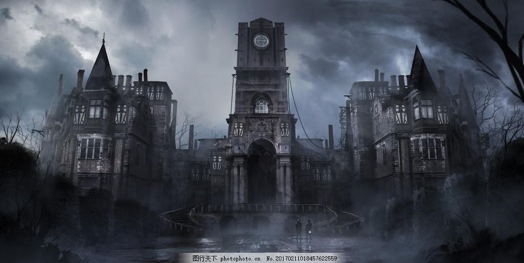 幽灵古堡 游戏 影视 场景 概念设定 场景设计 原画设计 游戏场景 游戏
