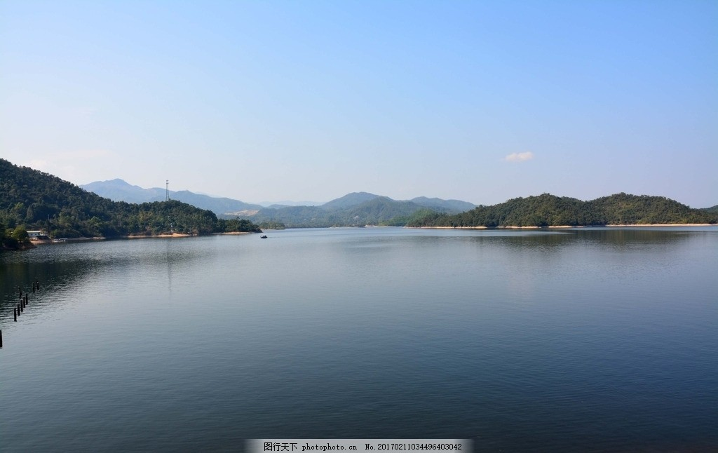 汤溪湿地 湿地公园 汤溪水库 风景区 湖水 湖泊 摄影 自然景观 山水