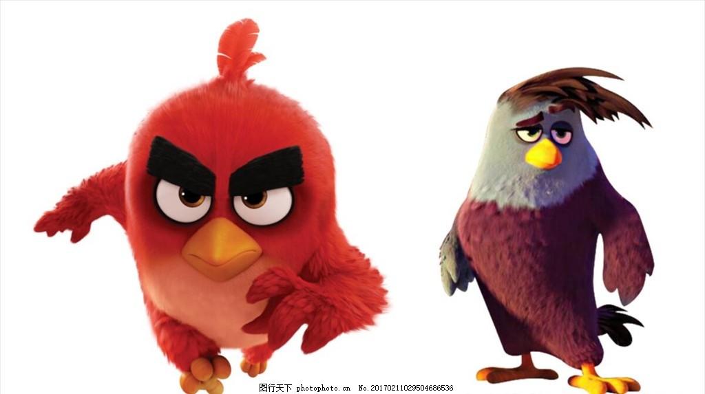 憤怒的小鳥 電影版角色