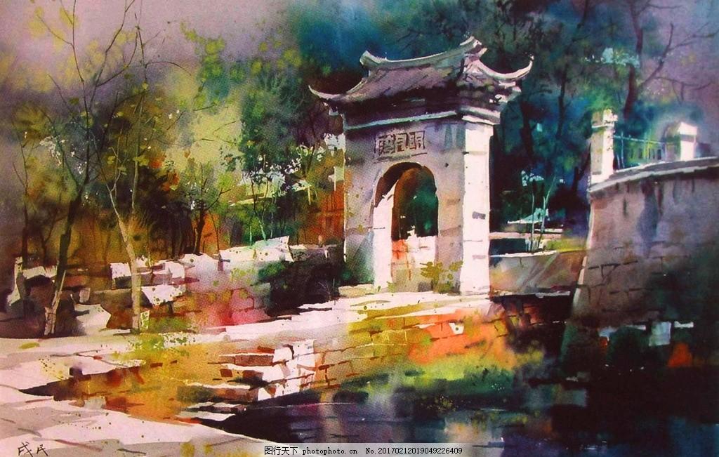 国庆海报手绘水粉
