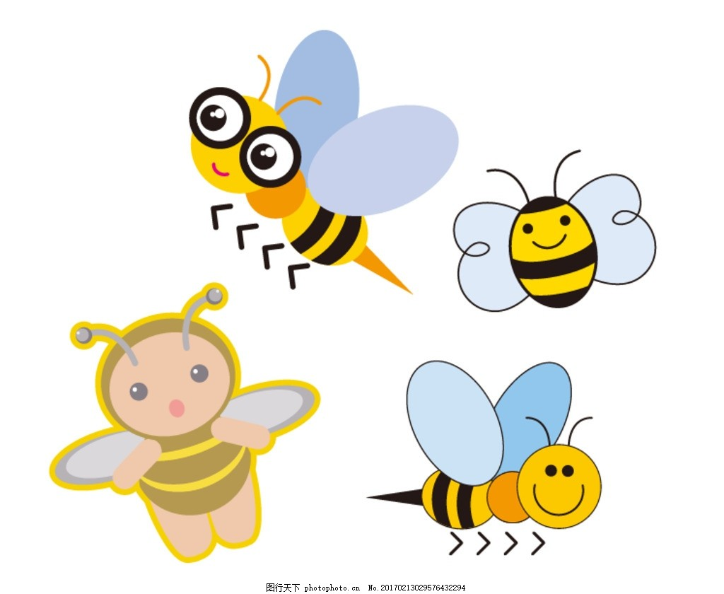 卡通素材 可爱 素材 手绘素材 儿童素材 昆虫 幼儿园素材 卡通装饰