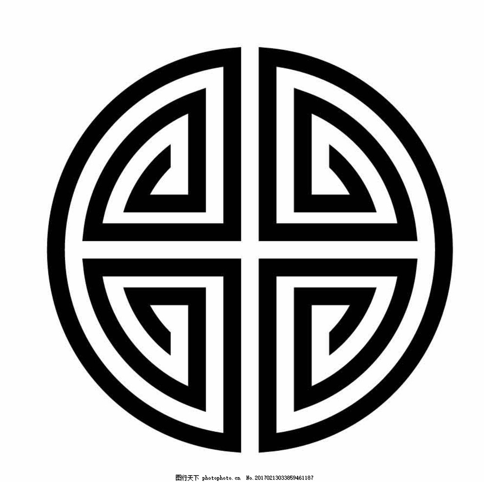 圆形电路logo