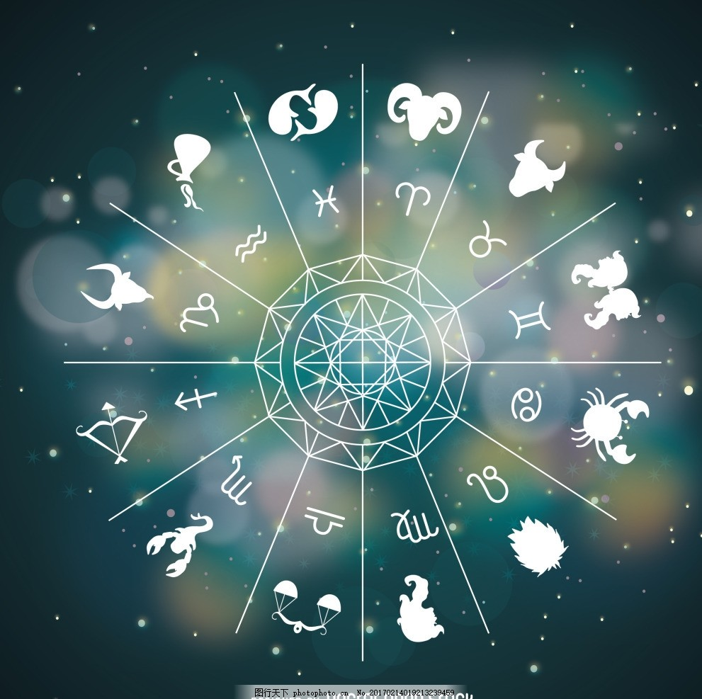 星空下的星座 星座 十二星座 12星座水瓶座 双子座 摩羯座 金牛座
