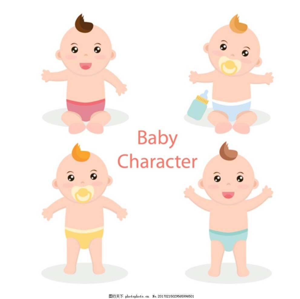 卡通母婴儿童孩子宝宝