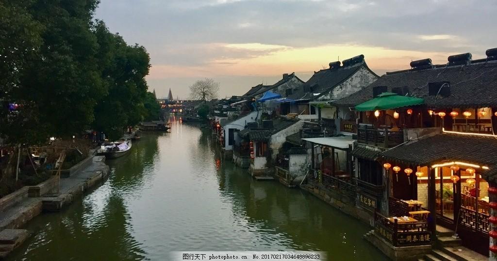 西塘 老街 古镇 江南水乡 河道 摄影 摄影 自然景观 风景名胜 72dpi j