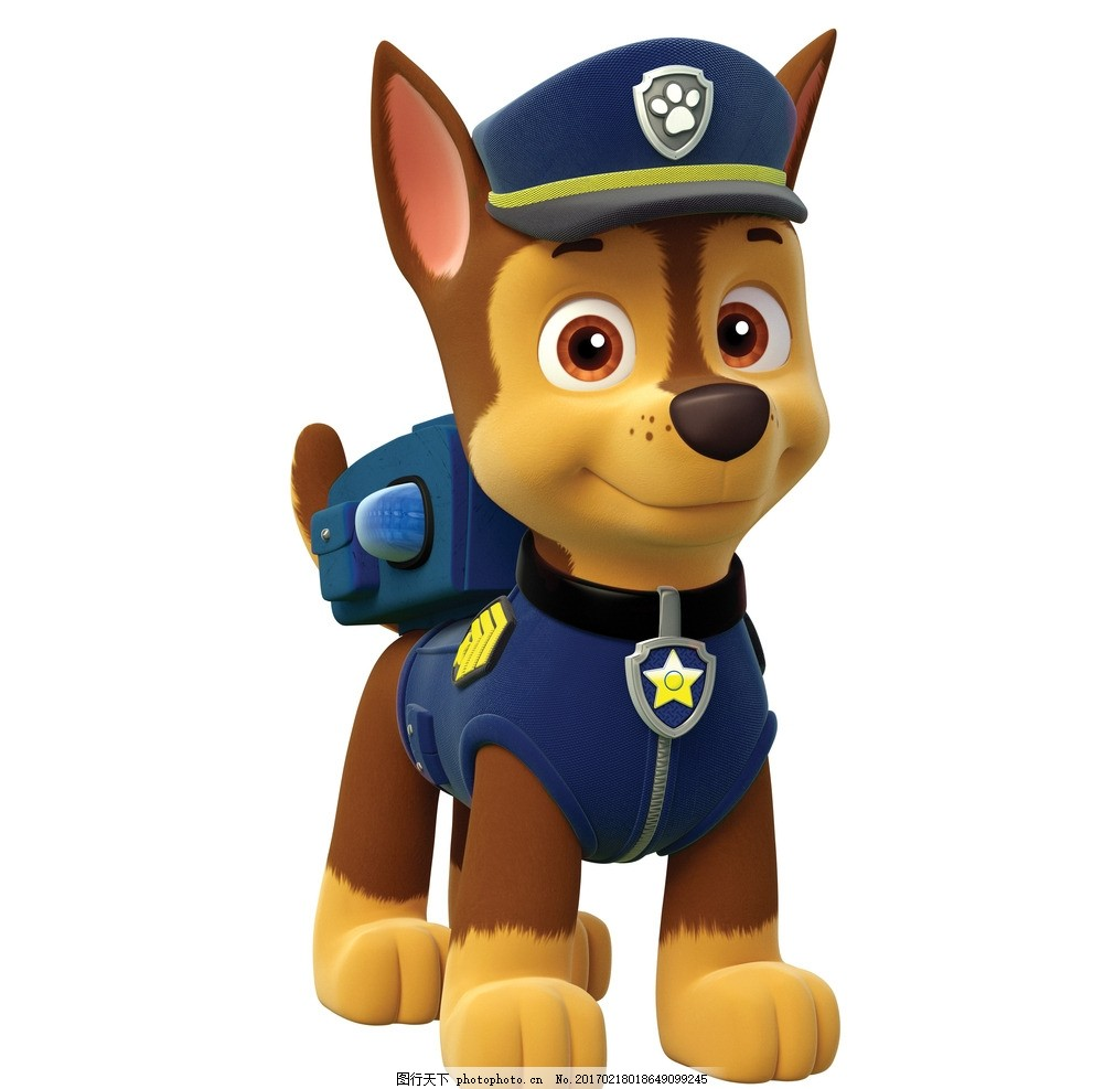 狗狗巡逻队 3d 卡通狗 卡通角色 游戏角色 可爱小狗 其它3d动漫 设计