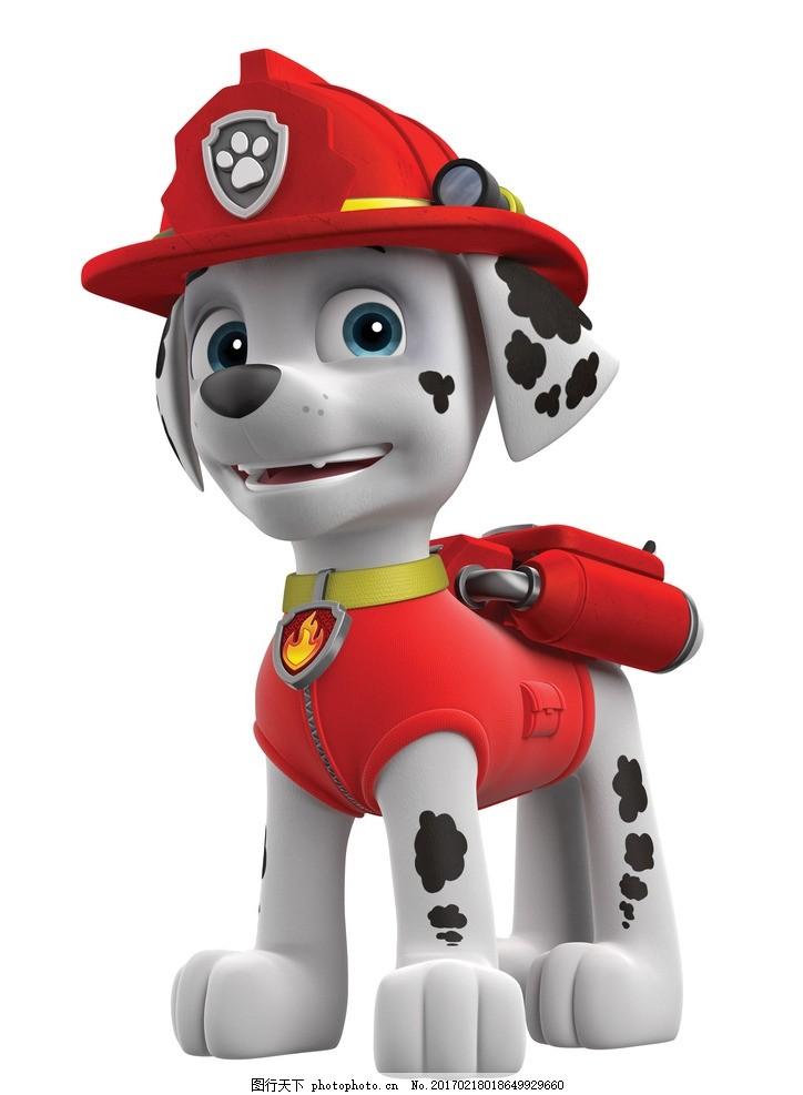 狗狗巡逻队 3d 卡通狗 卡通角色 游戏角色 可爱小狗 其它3d动漫 设计-