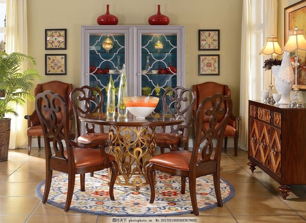 餐厅 欧式 地板 沙发 地毯 墙纸 摄影 生活百科 家居生活 建筑园林