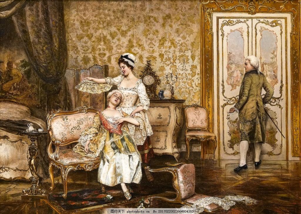 欧式油画 油画 美女油画 抽象油画 手绘风景油画 现代装饰画 油画怀旧