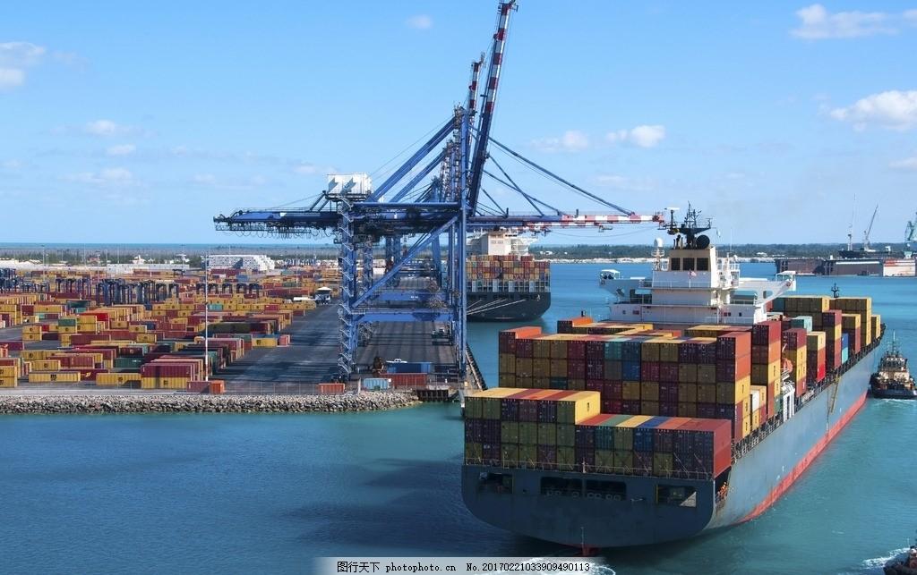 秦皇岛码头 唯美 风景 风光 旅行 人文 城市 港口 货运 轮船