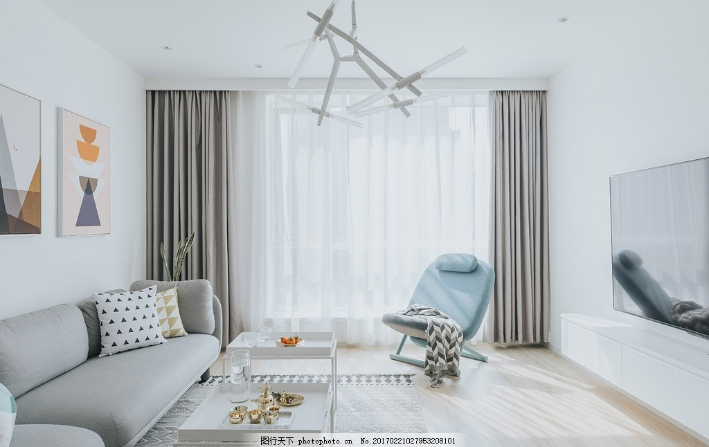 简约北欧风格宜家风格客厅室内 简约 北欧风格      室内设计 宜家