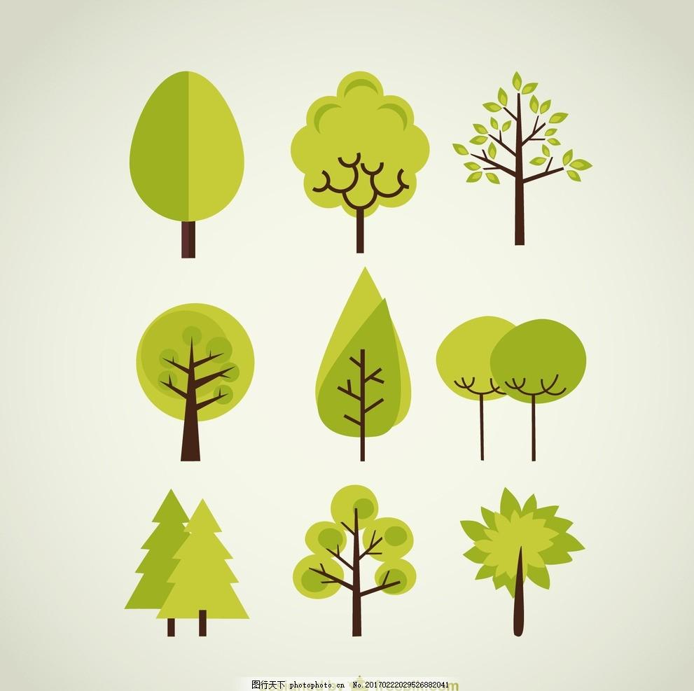 绿色背景 清新 春色 小清新 绿色家 绿色房子 绿色节能环保 绿色 树叶图片