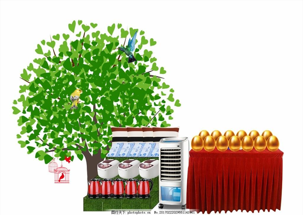 地产礼品创意堆头造型 礼品堆头 商场陈列 地产创意堆头 促销造型堆头图片