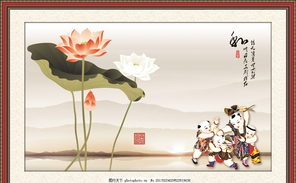江南水乡 水彩 水彩画 场景画 水彩风景 艺术绘画 自然风光 中国风