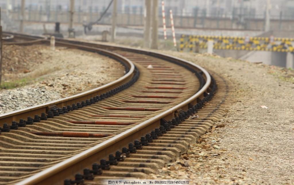 铁轨 铁道 铁路 轨道 火车轨道 交通 摄影