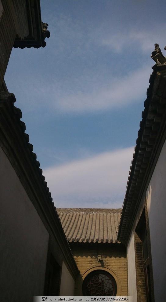 古代建筑 屋檐 房顶 仰视 房屋 胡同 中国古建筑 中国古建筑 摄影
