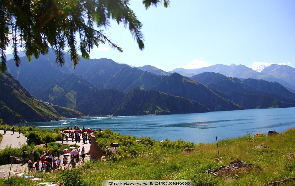 旅游 天山天池 天池 新疆天池 天山天池 摄影 自然景观 山水风景 72dp