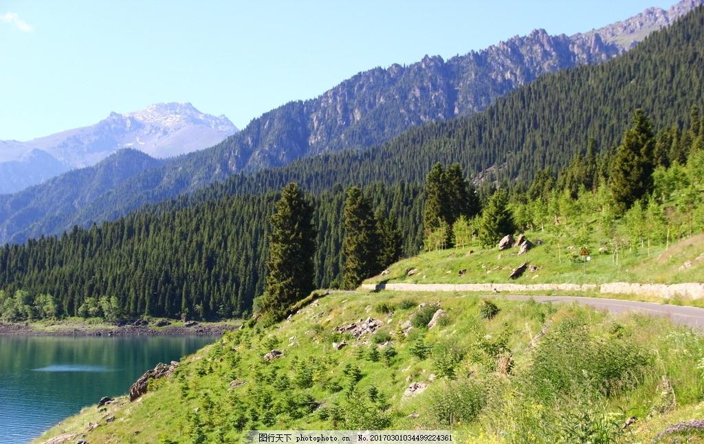 旅游 天山天池 天池 新疆天池 天山天池 摄影 自然景观 山水风景 72