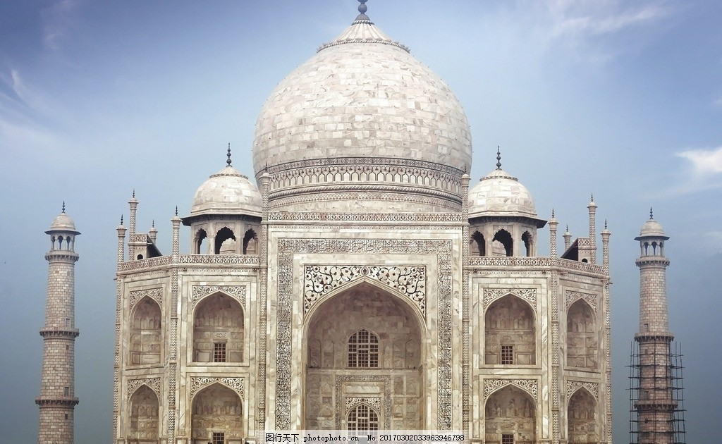 泰姬陵 唯美 风景 风光 旅行 人文 印度 摄影 国外旅游