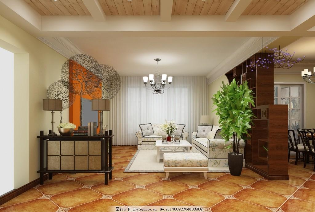 客厅 室内装修效果图
