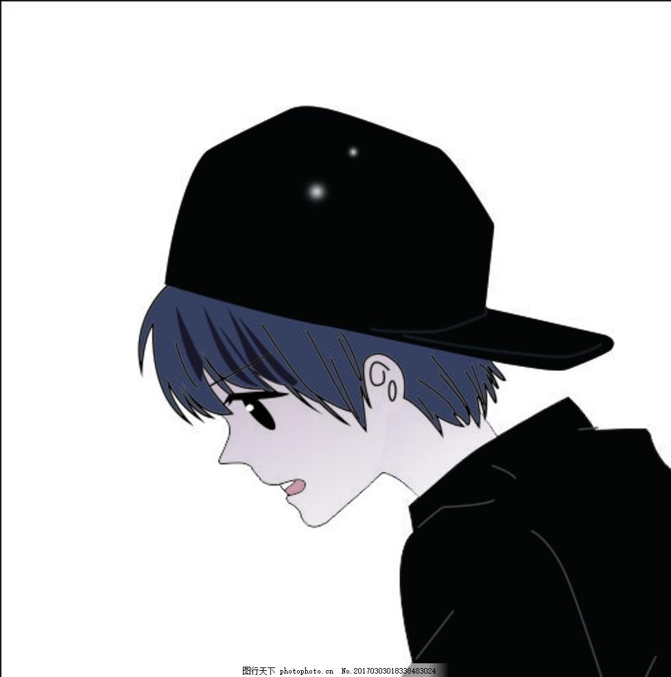 动漫男孩 动漫 男孩 动画 帅哥 人物 卡通 矢量 cdr 设计 动漫动画