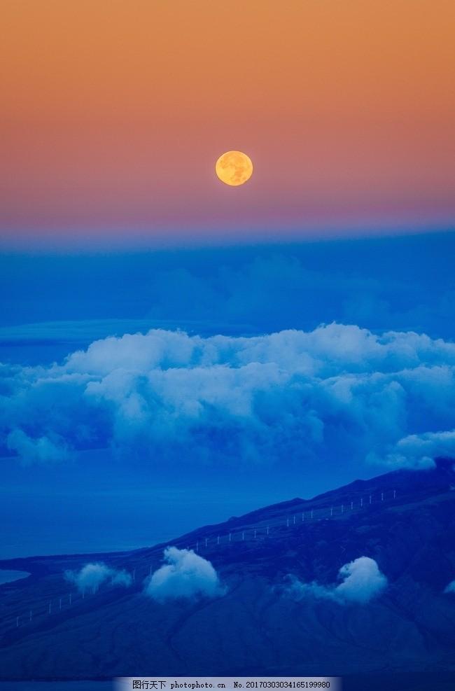 云海日出 云海 高山 太阳 霞光 白云 摄影 自然景观 自然风景 72dpi