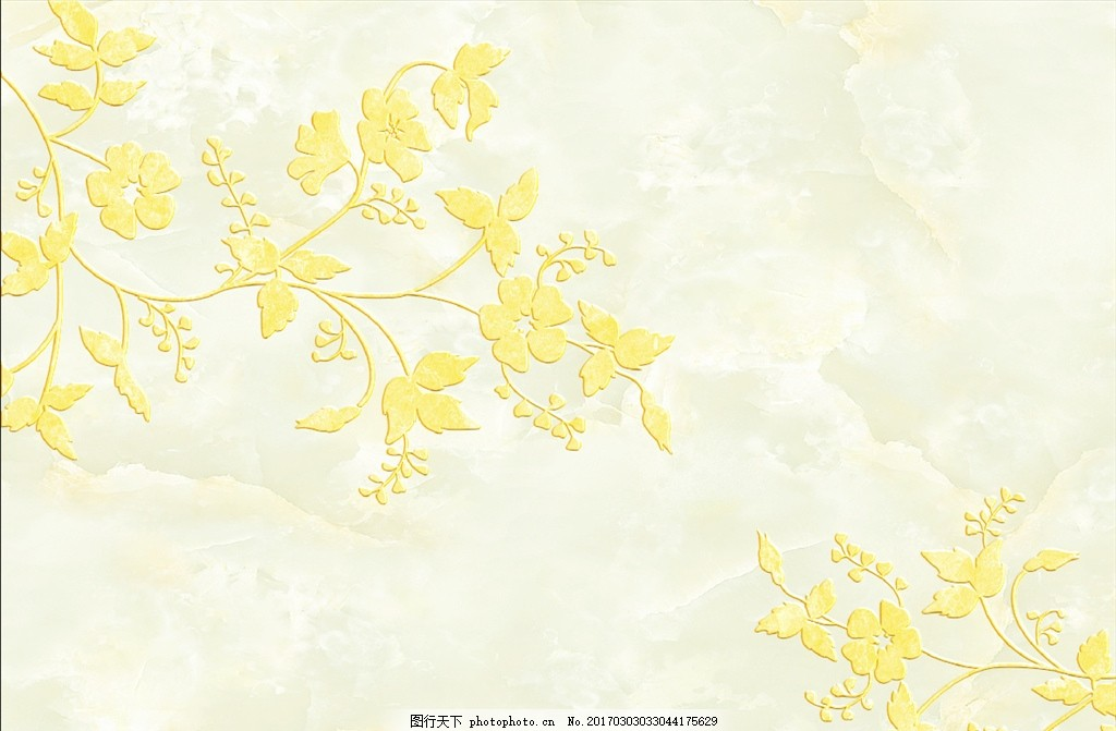 大理石纹欧式花朵 欧式花纹 欧式花朵 花边花纹 大理石纹 电视背景墙