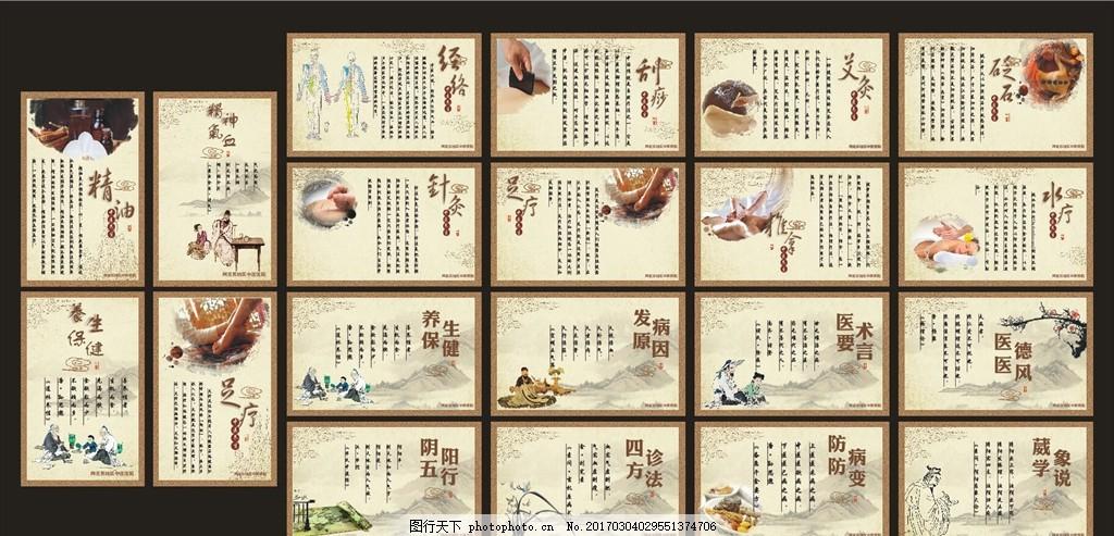 中医养生文化,中医文化 传统中医 养生展板 养生