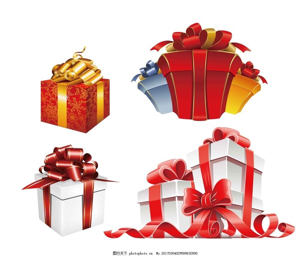 量礼品 节日礼品 彩带 包装盒 圣诞节礼物 丝带 蝴蝶结 丝带花 装饰