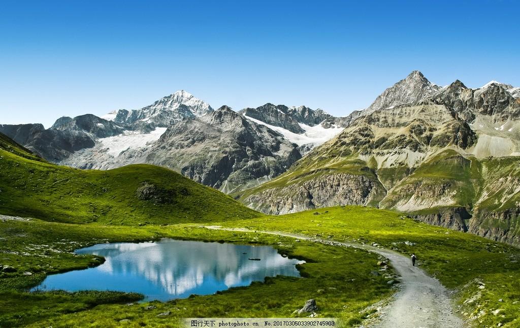 瑞士高山 唯美 风景 风光 旅行 自然 欧洲 瑞士 高山 山 险峻 摄影