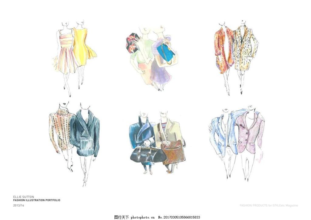 12款服装设计图
