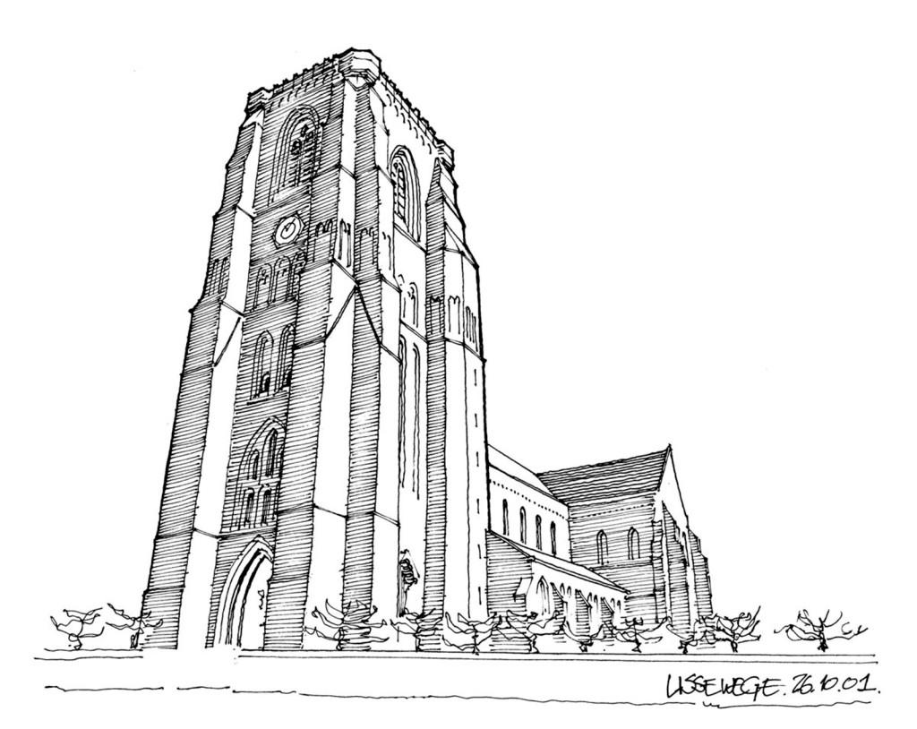 独栋欧式建筑效果图 建筑平面图素材免费下载 手绘图 图纸 城堡