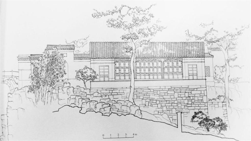 日式建筑效果图 建筑效果图下载 手绘图 图纸 建筑 平面图 jpg 城堡