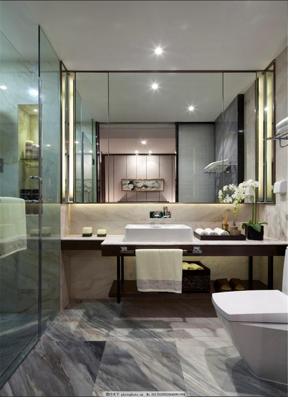 家裝衛生間裝修圖 室內空間 室內設計 室內效果圖 衛浴空間 洗手盆