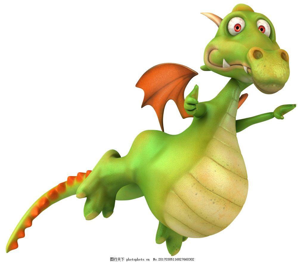会飞的卡通恐龙 会飞的卡通恐龙图片素材 卡通动物 生物世界