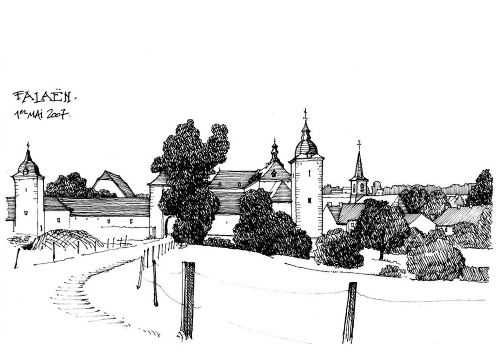 欧式公路建筑效果图 建筑平面图素材免费下载 手绘图 图纸 城堡