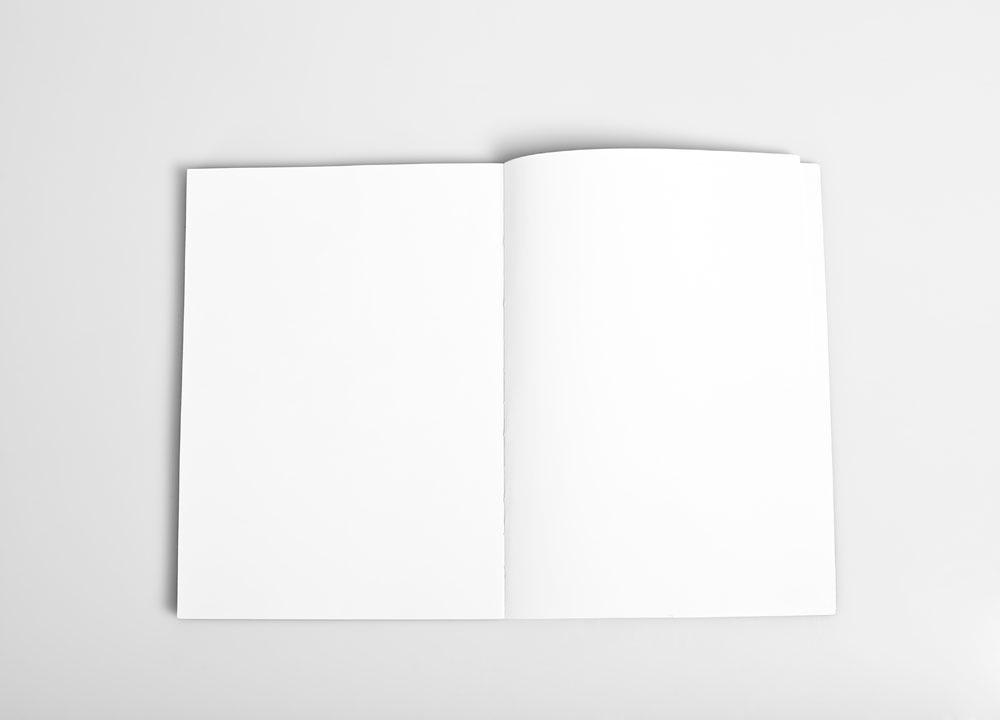 卡通空白书本
