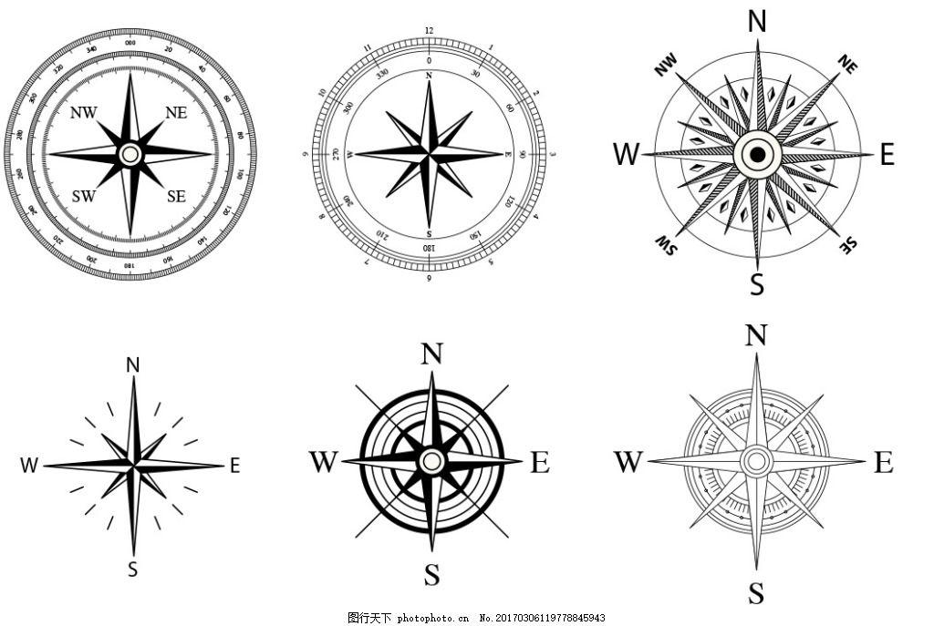 手绘扁平扁平导航方向,阳台图标图标设计手绘香港图标改卫生间设计图图片