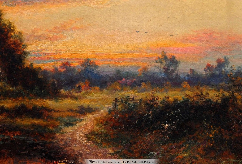 油画 风景画 风景油画 自然风景油画 西方油画 油画风景 油画作品