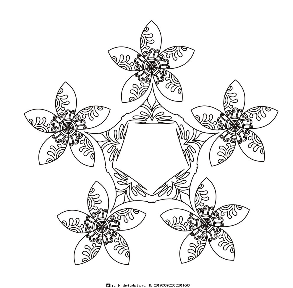 100种植物简笔画步骤图