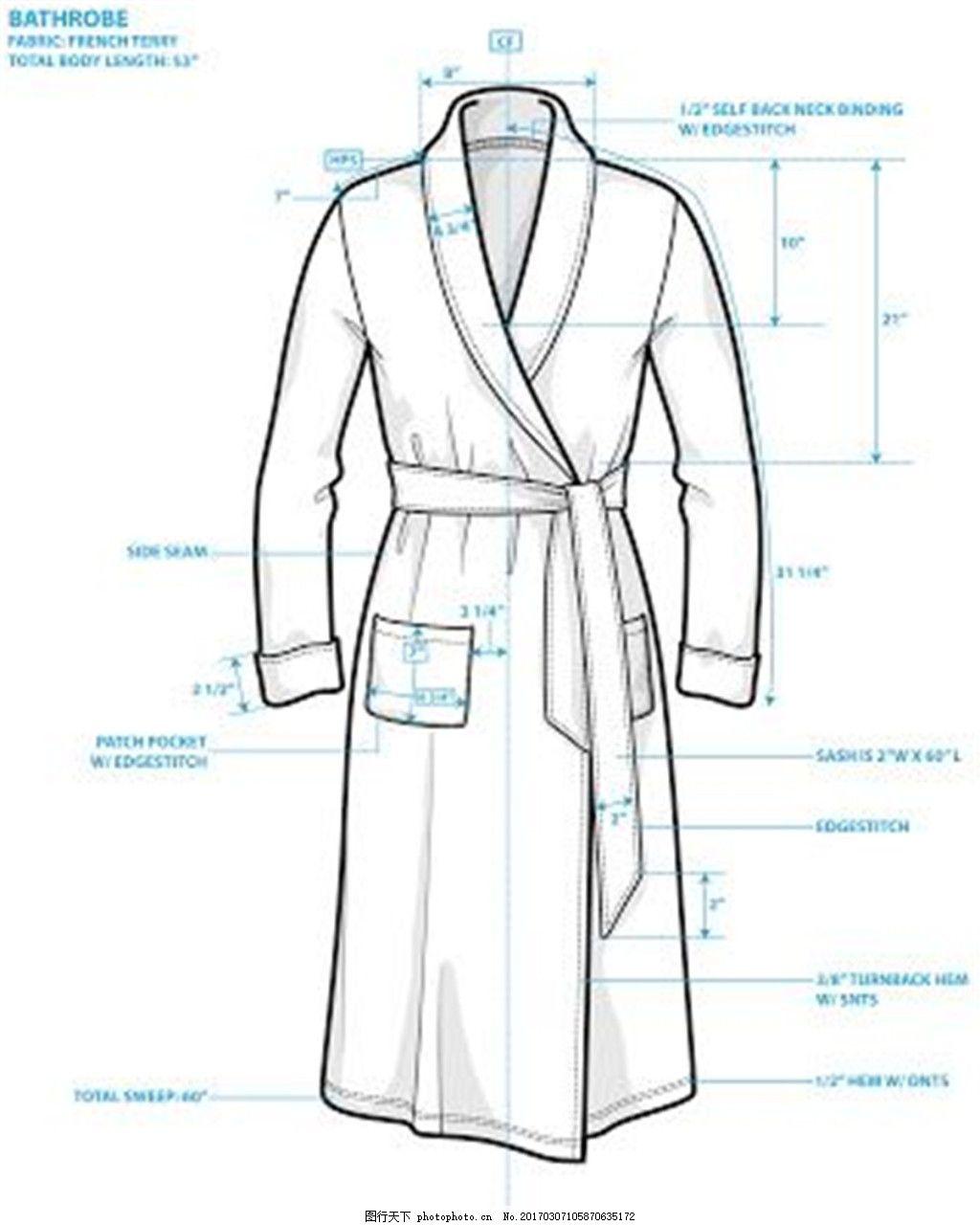 设计图库 现代科技 服装设计  长袍设计图 服装设计 时尚女装 职业装