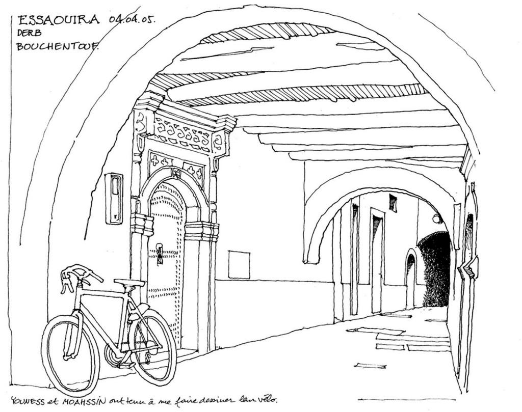 jpg 城堡 建筑施工图 建筑平面图 欧式建筑 建筑效果图 自行车 拱门