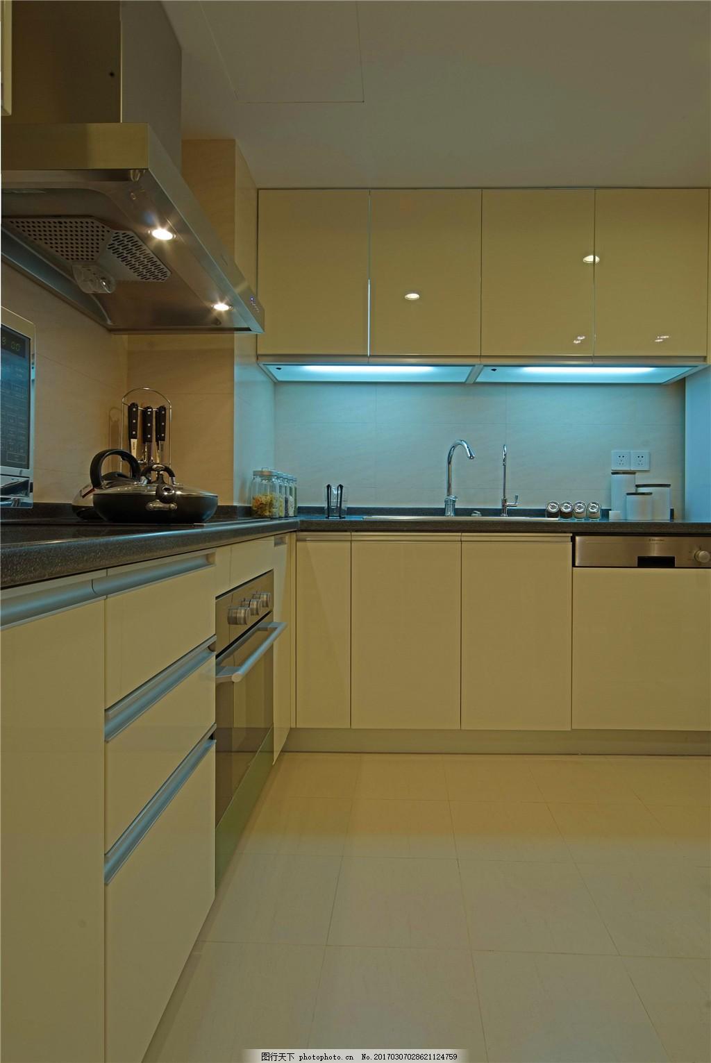 家庭厨房装修效果图图片