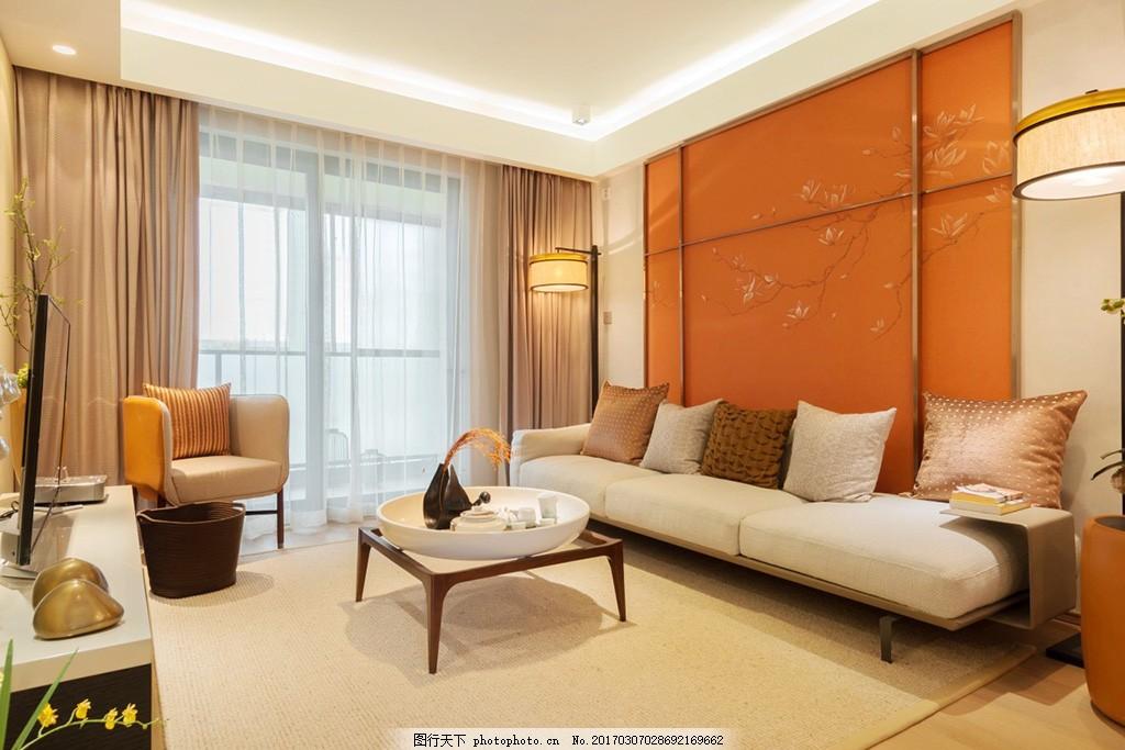 客厅室内设计中式装修效果图免费下载 欧式 室内设计装修效果图 卧室