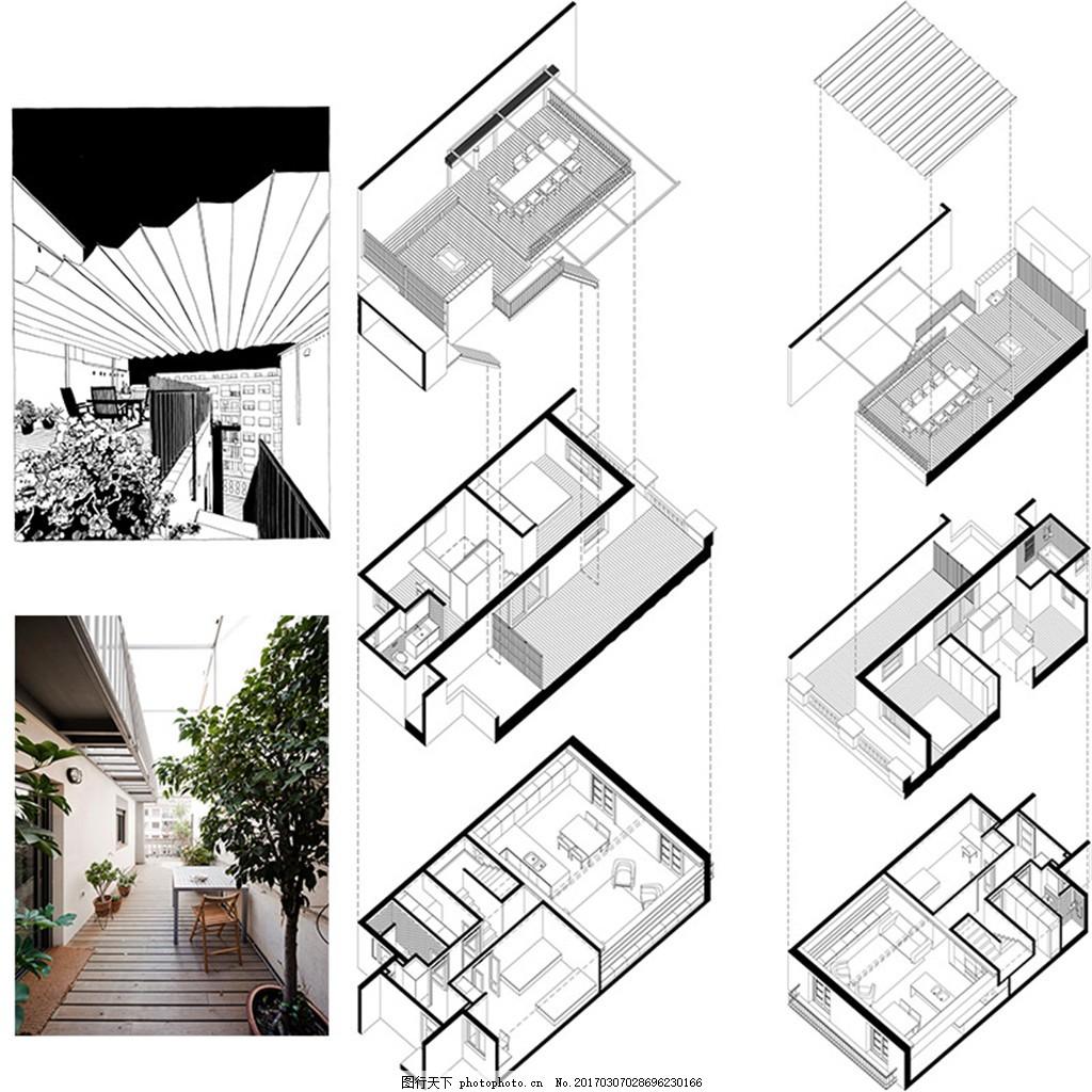 现代家装平面图 室内设计 家装效果图 欧式装修效果图 时尚 奢华