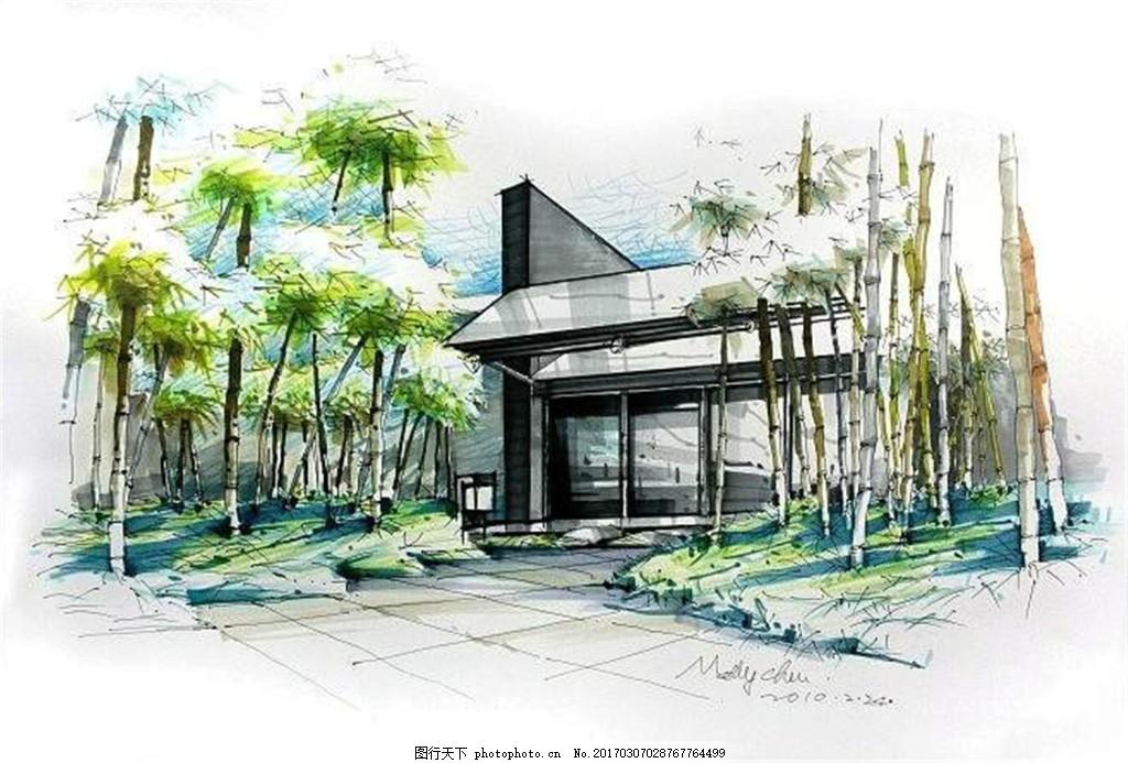 园林效果图 园林景观图片免费下载 房地产广告 房地产效果图 广告设计